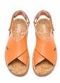 Camper Deri Sandalet Oranj